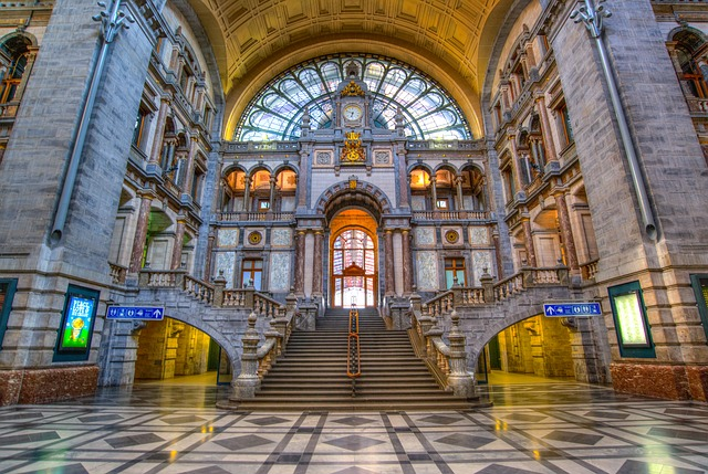 Station Hall In Antwerp 2232870